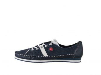 Rieker dámska šnurovacia obuv - tmavomodrá