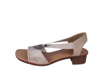 Rieker dámske béžové sandále