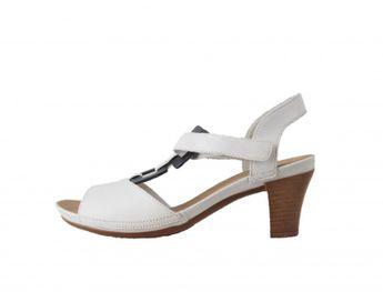 Rieker dámske biele sandále
