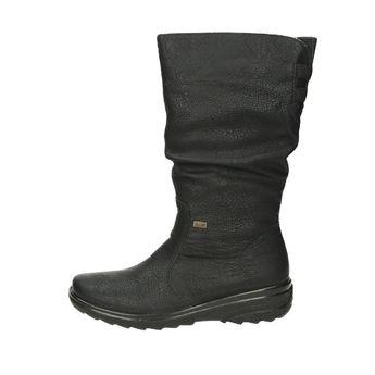 Rieker dámske čižmy - čierne