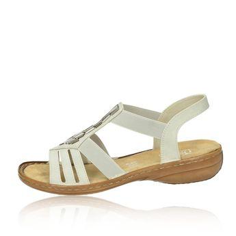 Rieker dámske elegantné sandále - béžové