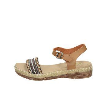 Rieker dámske elegantné sandále s remienkom - hnedé