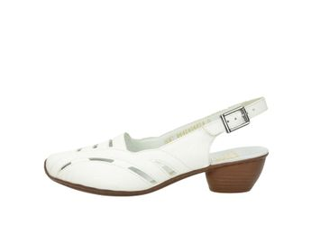 Rieker dámske sandále - biele