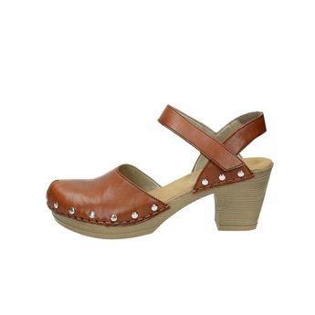 Rieker dámske sandále na suchý zips - hnedé