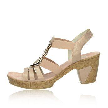 Rieker dámske sandále - ružové