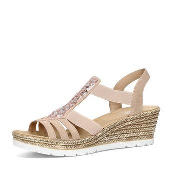 Rieker dámske štýlové sandále - ružové