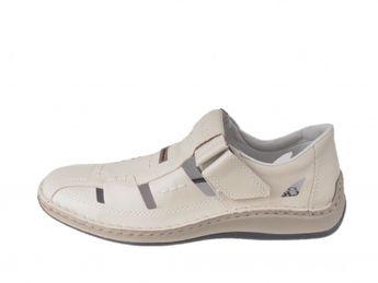 Rieker pánske sandále - béžové