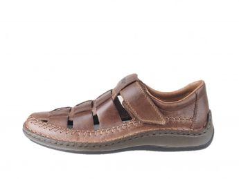 Rieker pánske hnedé sandále