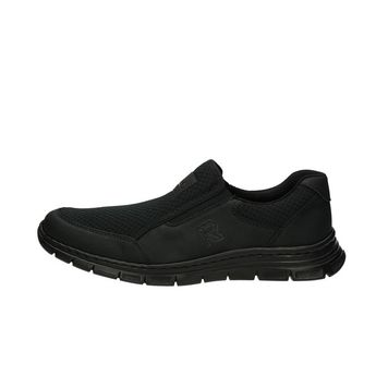 Rieker pánske pohodlné tenisky - čierne