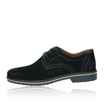 Rieker pánske semišové topánky - modré