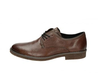 Rieker pánske spoločenské topánky - hnedé