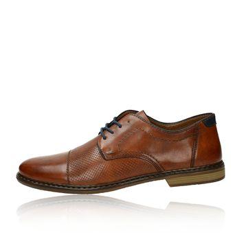 Rieker pánske spoločenské topánky - koňakové