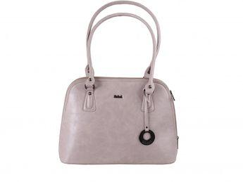 Robel dámska bledoružová elegantná kabelka