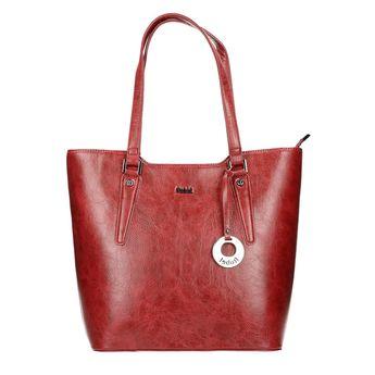 Robel dámska objemná kabelka - bordová