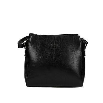 Robel dámska praktická crossbody kabelka - čierna