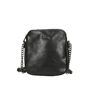 Robel dámska štýlová crossbody kabelka - čierna