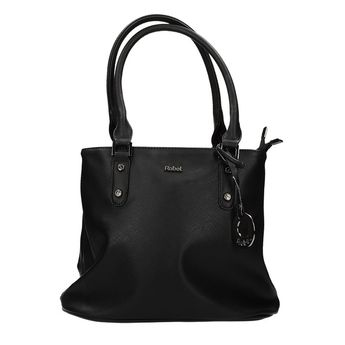 Robel dámska štýlová kabelka - čierna