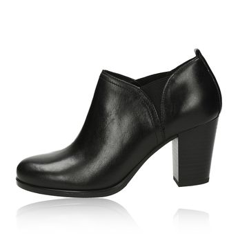 Robel dámske elegantné poltopánky - čierne