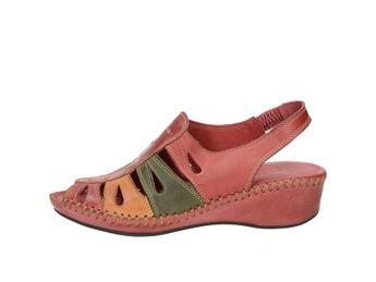 Robel dámske pohodlné sandále - bordové