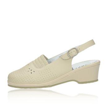 Robel dámske sandále - béžové
