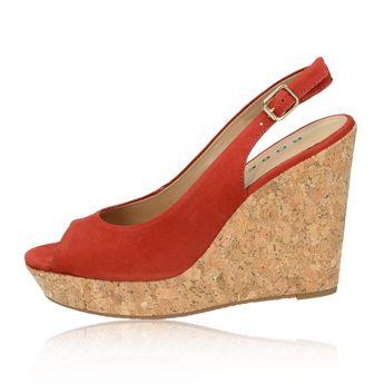 Robel dámske sandále s remienkom - červené