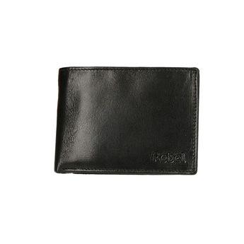 Robel pánska kožená peňaženka - čierna
