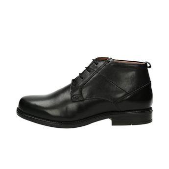 Robel pánska štýlová členková obuv - čierna