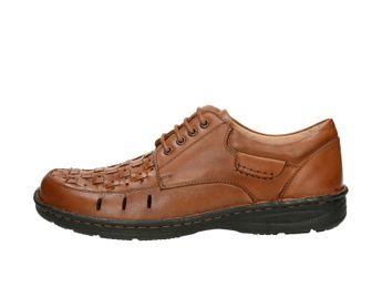 Robel pánske spoločenské topánky - hnedé