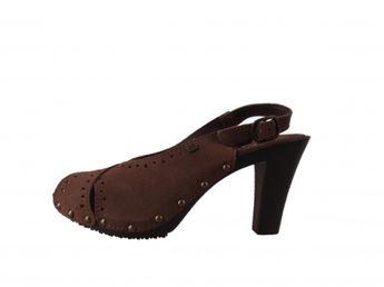 s.oliver dámske sandále - hnedé