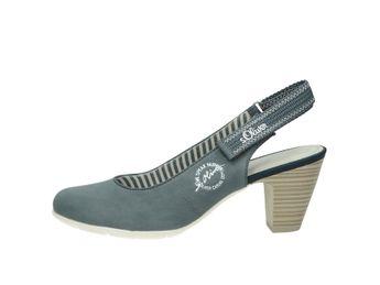 s.Oliver dámske sandále - modré