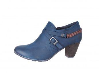 s.oliver dámske poltopánky - modré