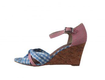 s.oliver dámske sandále - multicolor