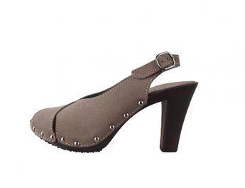 s.oliver dámske šedé sandále