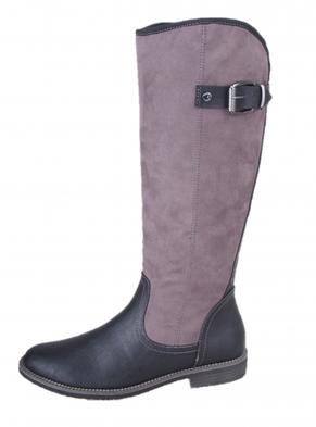 s.oliver dámske zimné čižmy - šedé