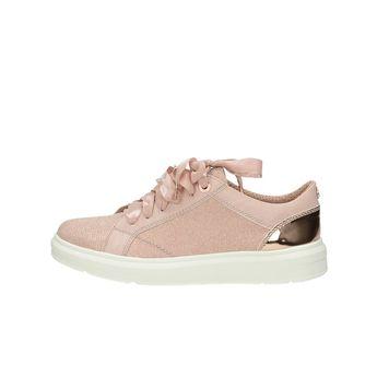 S.Oliver dámske štýlové trblietavé tenisky - rúžové