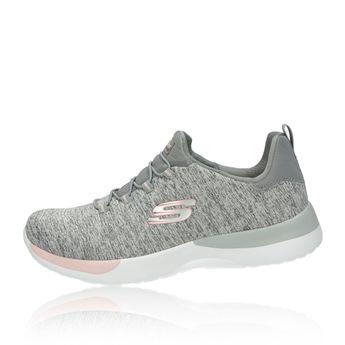 Skechers dámske pohodlné štýlové tenisky - šedé