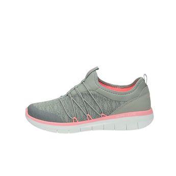 Skechers dámske textilné tenisky - šedé