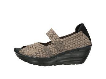 Skechers dámske vysoké sandále - zlaté