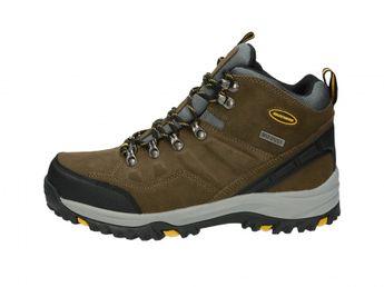 Skechers pánske trekingové čižmy - šedé