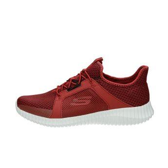 Skechers pánske textilné tenisky - červené