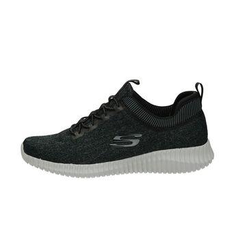 Skechers pánske textilné tenisky - čierne