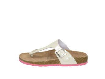 Softwave dámska domáca obuv - biela