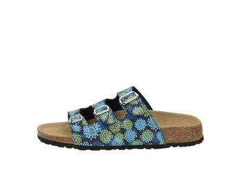 Softwave dámska domáca obuv - modrá