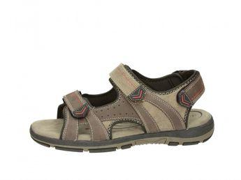Sprox pánske sandále - hnedé