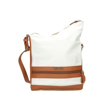 Tamaris dámska kombinovaná kabelka - bielohnedá