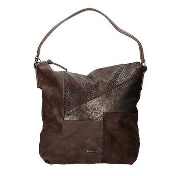 Tamaris dámska objemná kabelka - hnedá