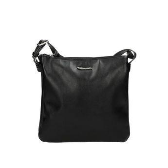 Tamaris dámska štýlová crossbody kabelka - čierna
