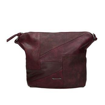 Tamaris dámska štýlová kabelka - bordová