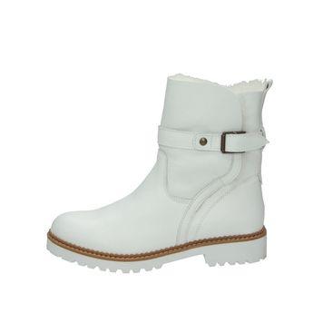 Tamaris dámske čižmy - biele