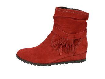 Tamaris dámske kotníky - červené